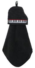 マスコットタオル /グランドピアノ ※お取り寄せ商品 引き出物 記念品 音楽雑貨 音符 ピアノモチーフ ト音記号 ピアノ雑貨