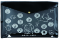 GY A4フラットケース ※お取り寄せ商品 引き出物 記念品  【音楽雑貨 音符・ピアノモチーフ】ト音記号 ピアノ雑貨c