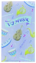 ILM マルチケース ※お取り寄せ商品 引き出物 記念品  【音楽雑貨 音符・ピアノモチーフ】ト音記号 ピアノ雑貨c