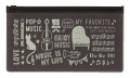 PVC ペンケース ※お取り寄せ商品 【音楽雑貨 音符・ピアノモチーフ】ト音記号 ピアノ雑貨c