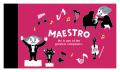 MAESTRO ミニメモ ※お取り寄せ商品 引き出物 記念品 音楽雑貨 音符 ピアノモチーフ ト音記号 ピアノ雑貨