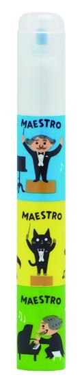 MAESTRO 6色マーカー ※お取り寄せ商品 引き出物 記念品 音楽雑貨 音符 ピアノモチーフ ト音記号 ピアノ雑貨