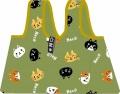 コンビニバッグ ※お取り寄せ商品 引き出物 記念品 音楽雑貨 音符 ピアノモチーフ ト音記号 ピアノ雑貨