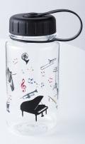 クリアボトル オーケストラ 350ml ※お取り寄せ商品 【音楽雑貨 音符・ピアノモチーフ】ト音記号 ピアノ雑貨