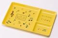 プレートスクエア ☆※お取り寄せ商品 【音楽雑貨 音符・ピアノモチーフ】ト音記号 ピアノ雑貨