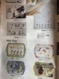アンアートデザイン撥水ランチョマットまたはトレイ ※お取り寄せ商品 引き出物 記念品 音楽雑貨 音符 ピアノモチーフ ト音記号 ピアノ雑貨