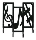 キーフック ※お取り寄せ商品 【音楽雑貨 音符・ピアノモチーフ】ト音記号 ピアノ雑貨c