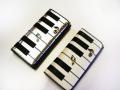 ピアノ音符ロングサイフ♪♪♪【音符・小物グッズ−音楽雑貨】