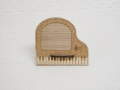 フォトスタンド ※お取り寄せ商品 引き出物 記念品 音楽雑貨 音符 ピアノモチーフ ト音記号 ピアノ雑貨