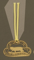 キャットブックマーク ゴールド鍵盤 ※お取り寄せ商品 【音楽雑貨 音符・ピアノモチーフ】