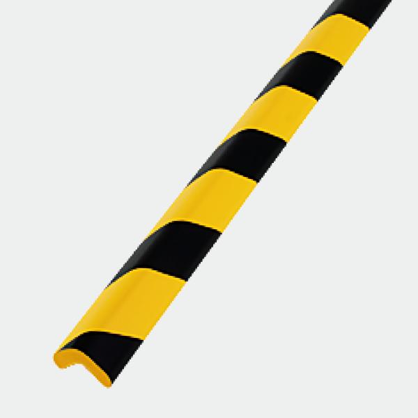 安心クッションL字型90cm 【大】 トラ柄 油面接着仕様