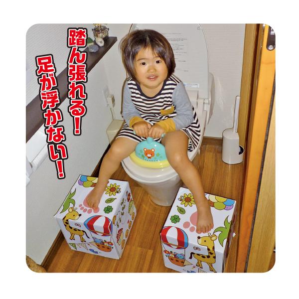 トイレ用 ふんばるBOX/198