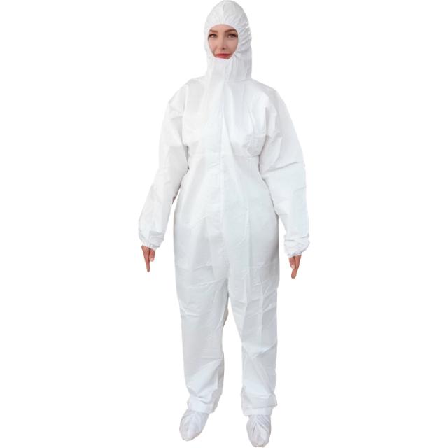 つなぎ型防護服