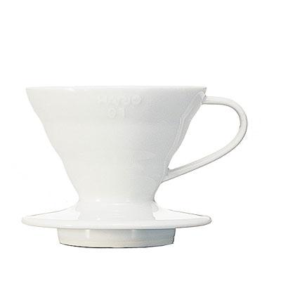 ハリオV60透過ドリッパー01(陶器製・1-2杯用)
