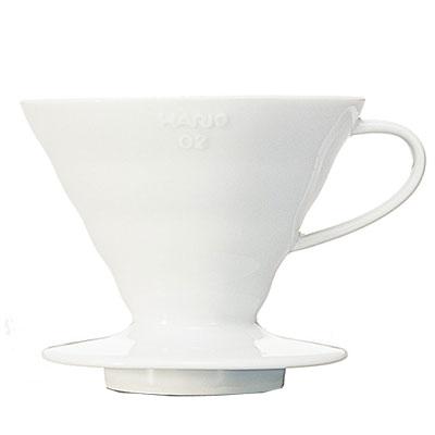 ハリオV60透過ドリッパー02(陶器製・1-4杯用)