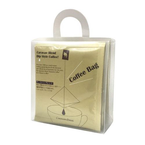 コーヒーバッグ・キャラバンブレンド6個手提げバッグ