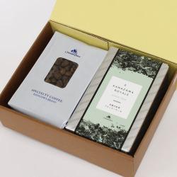 カフェインレスコーヒー&金澤ロワイヤルブランデーケーキギフト