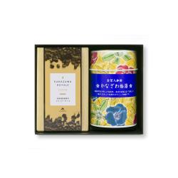 金箔入コーヒー&金澤ロワイヤルブランデーケーキギフト