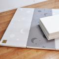 ムーン・スター グレイ 4段 ベーシック 140×200×4cm