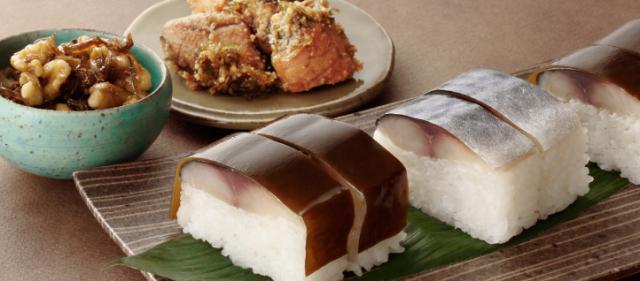 【父の日限定】 鯖松前寿しと佃煮2種セット