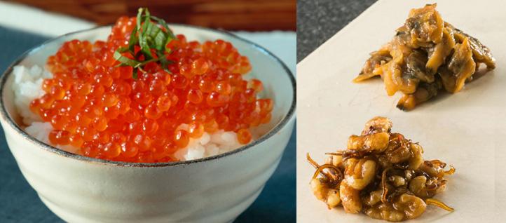 【父の日限定】 北海道産いくら醤油漬けと佃煮2種セット