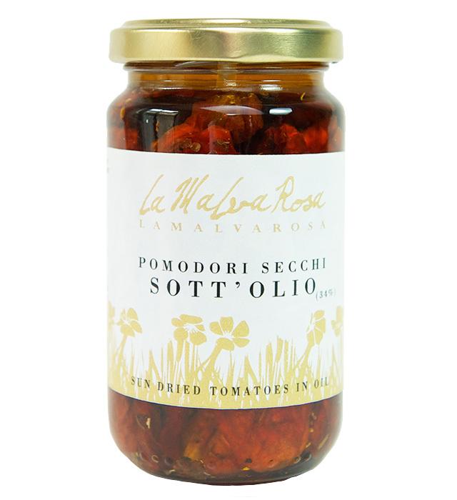 乾燥トマトのオイル漬け