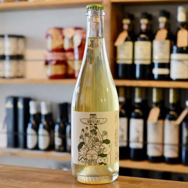 <白ワイン・自然派・トレッビアーノ>インディジェノ・ビアンコ N.V. V.d.T. (有機・無添加)