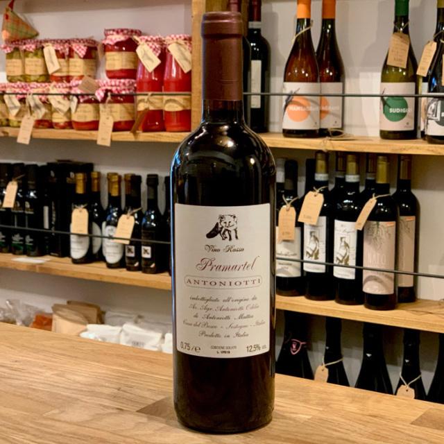 """<自然派・赤ワイン>ヴィーノロッソ """"プラマルテル"""" N.V. V.d.t."""