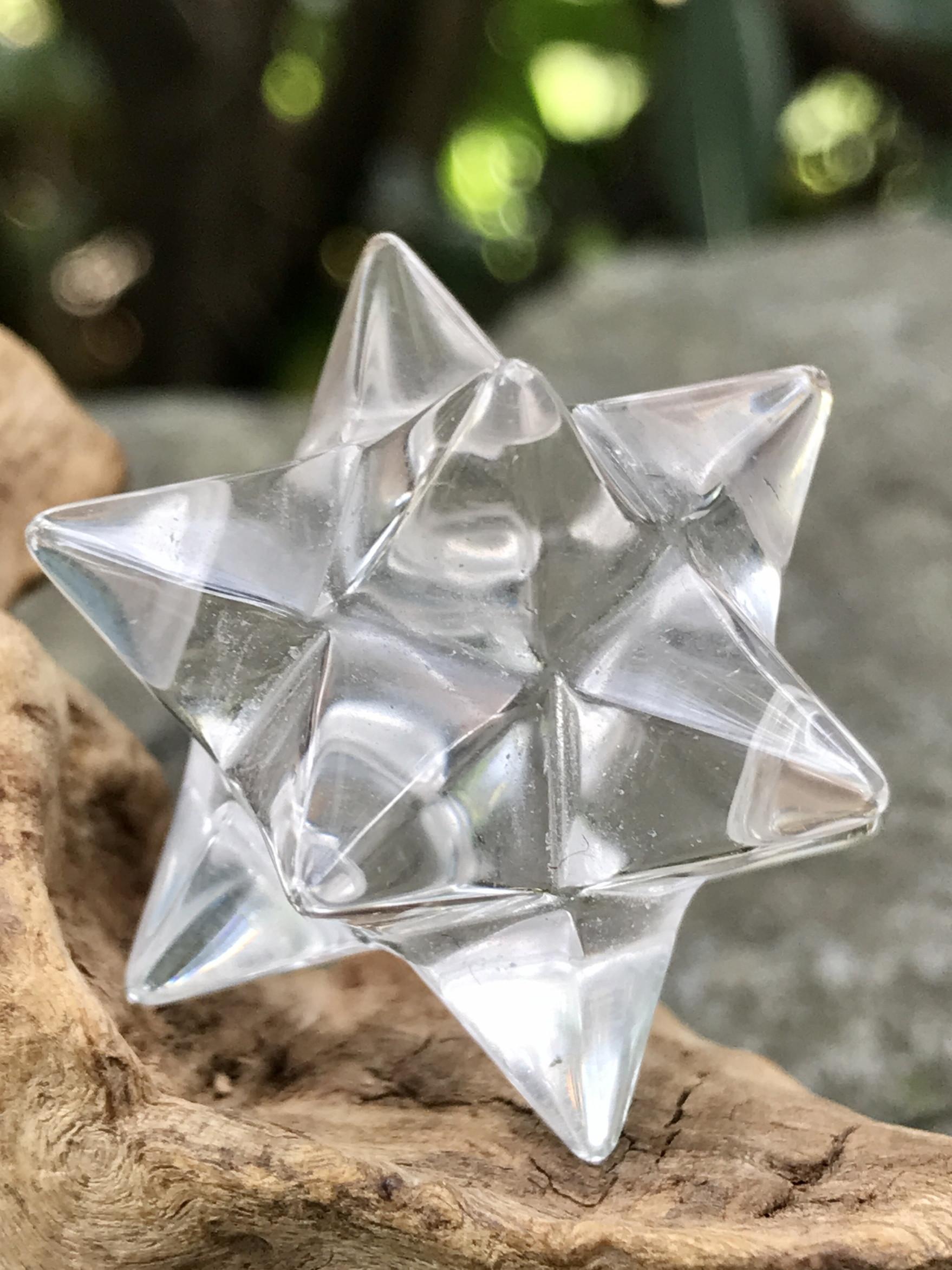バイア産レムリアンシード・アステロイド水晶(小星型十二面体) ASQ016