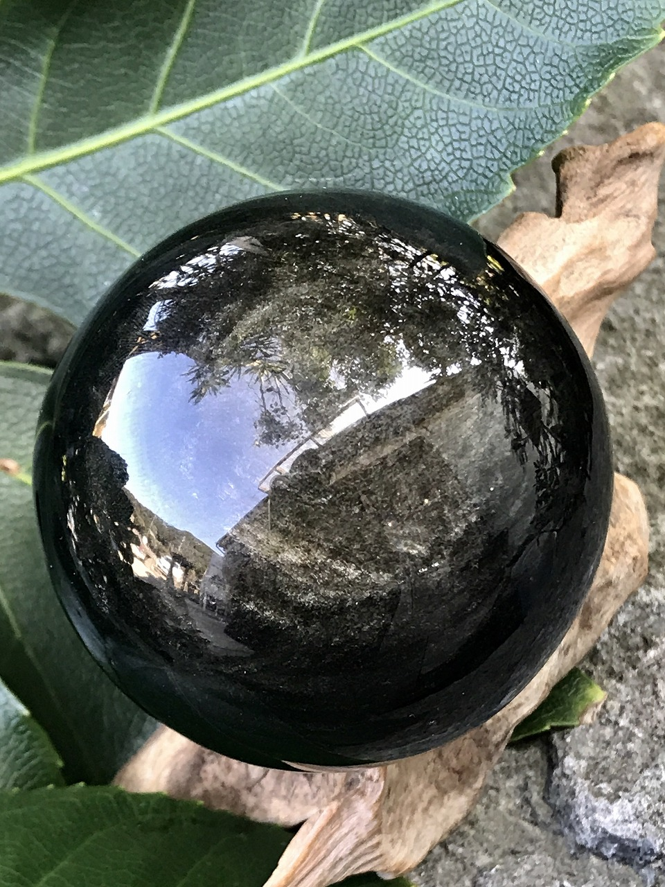 メキシコ産ブラックオブシディアン OBS002