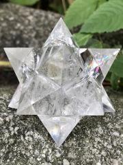 アステロイド水晶(小星型十二面体) ASQ003