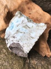 ドミニカ産ラリマー原石 LAR006