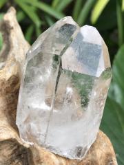 タンザニア・マスタークリスタル(モンド水晶)・ツイン・ウィンドウ・イシス・タイムリンク MND002