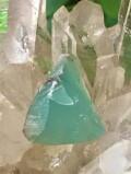 アトランティス・ブルー・カルセドニー(アクアプレーズ)・原石 AQP033