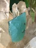 アトランティス・ブルー・カルセドニー(アクアプレーズ)・原石 AQP040
