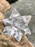 バイア産レムリアンシード・アステロイド水晶(小星型十二面体)クローライトイン ASQ017