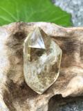 南アフリカモンテカッシーナ鉱山天然シトリン・ポリッシュ(ダブルターミネイテッド) CIT023