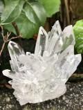 ブラジル・コリント産水晶クラスター(ガーデン、レインボウ) COR002