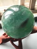 中国産グリーンフローライト・スフィア FLR077