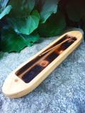 糸島産檜 香立て(舟型)HNK001