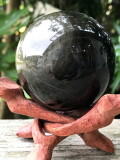 メキシコ産ブラックオブシディアン・スフィア OBS021