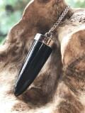 ペンデュラム・ブラックトルマリン(シルバーチェーン) PDL055