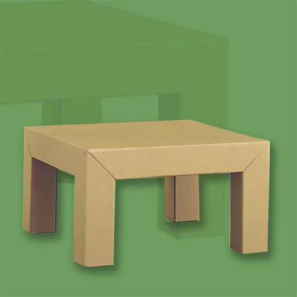ダンボール家具ローテーブル