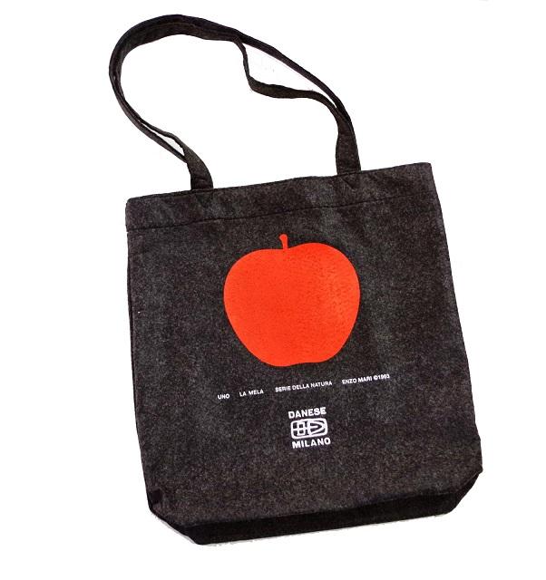 DANESE50周年記念品 Felt Bag UNO,LA MELA