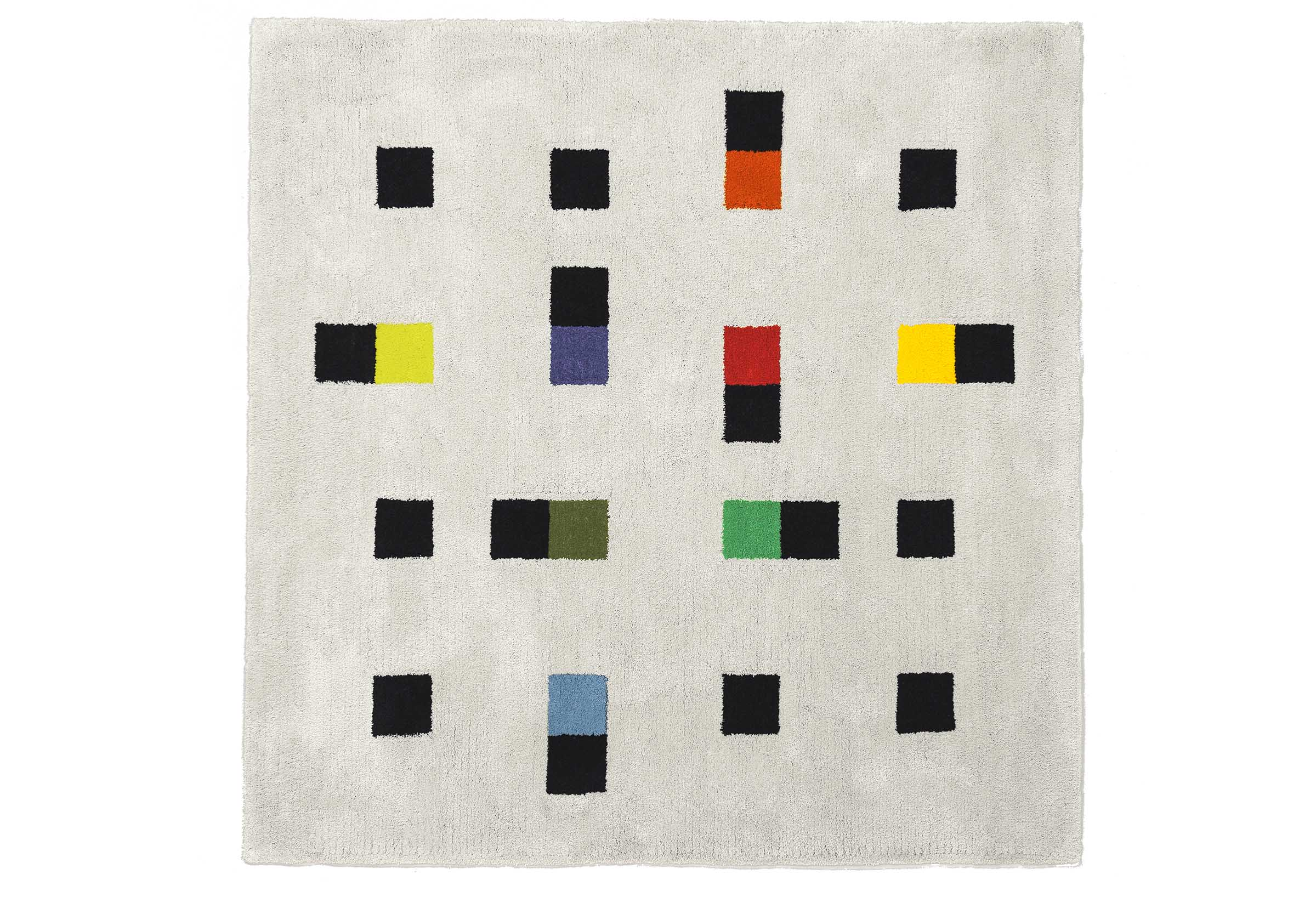 【METROCS】 マックス・ビル カラフルアクセンツ ラグ Max Bill  colorful accents rug