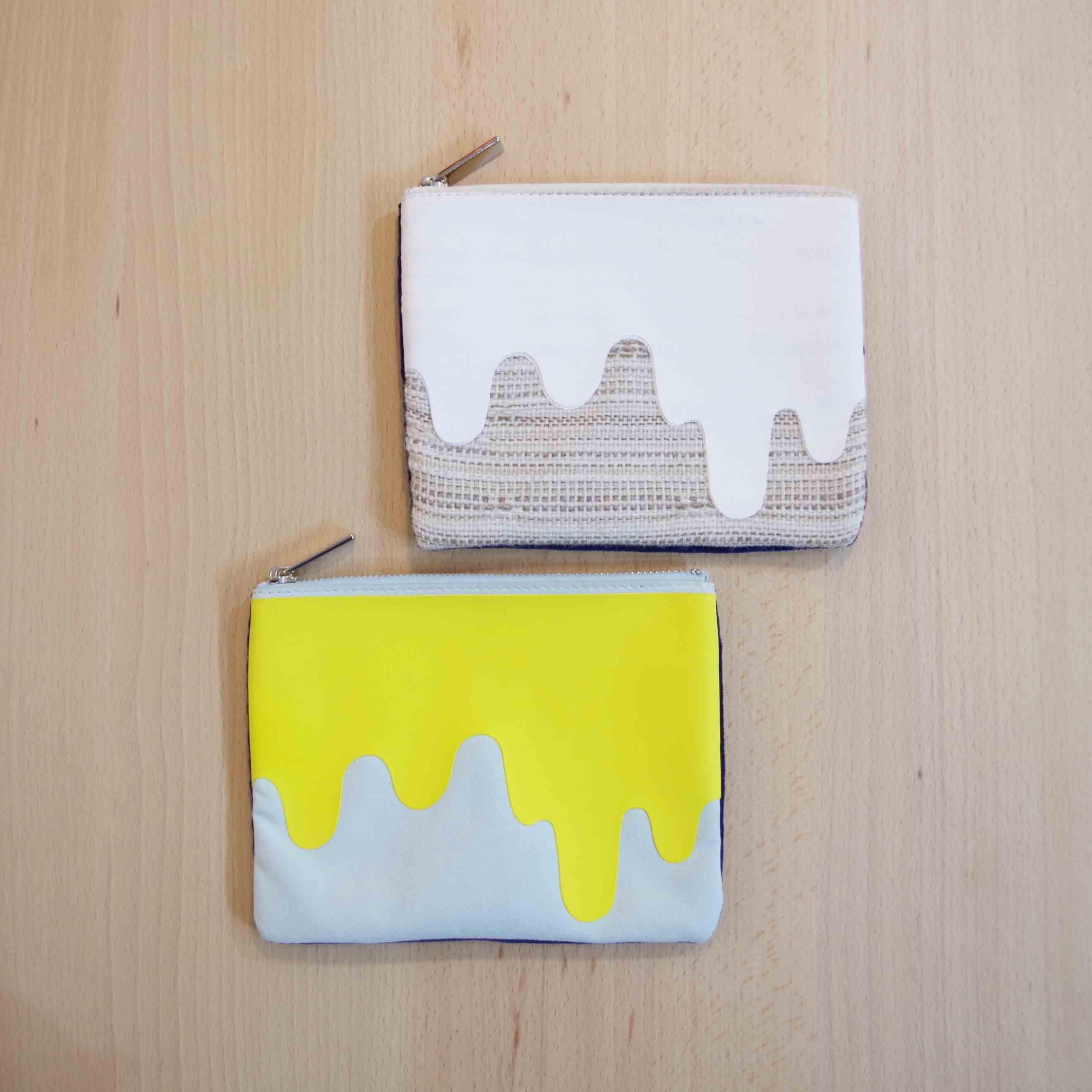 【desertic × Knoll】Liquid Print Poach -Knoll Textiles- Mサイズ