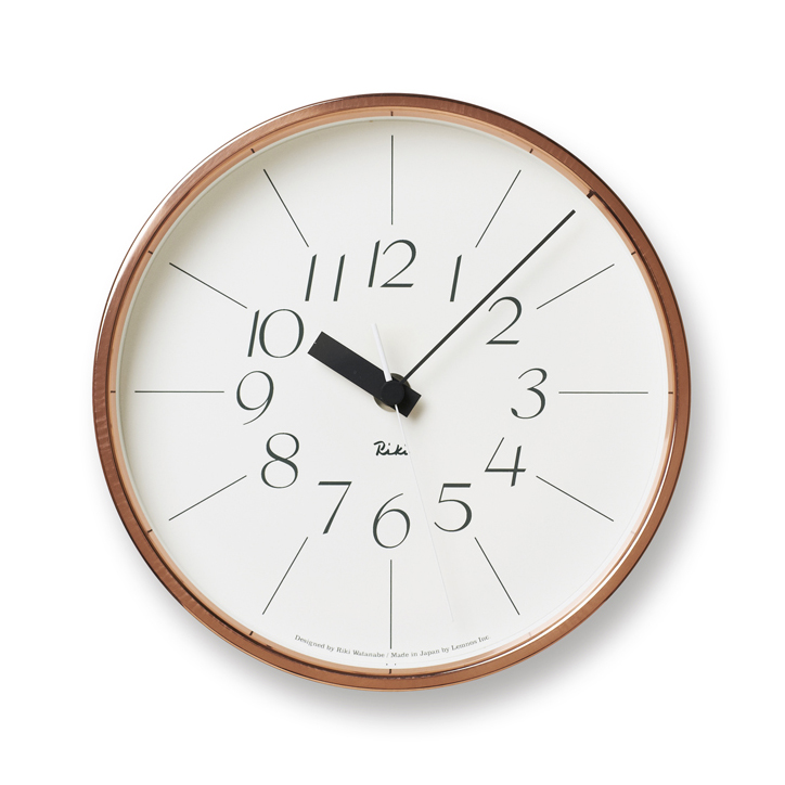 Lemnos レムノス 銅の時計 渡辺 力