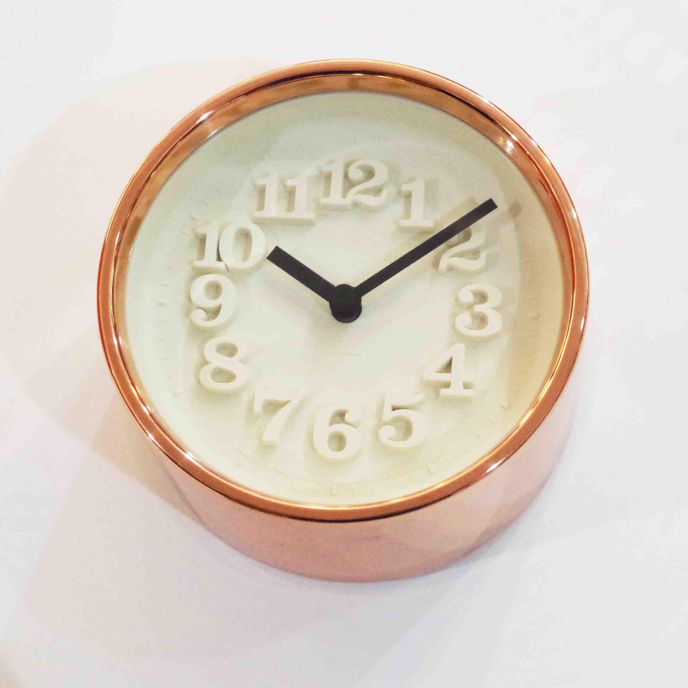 Lemnos レムノス 小さな時計 純銅仕様【わけあり】