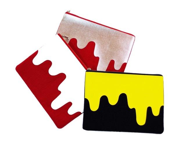 Liquid Print Poach -Knoll Textiles- Lサイズ