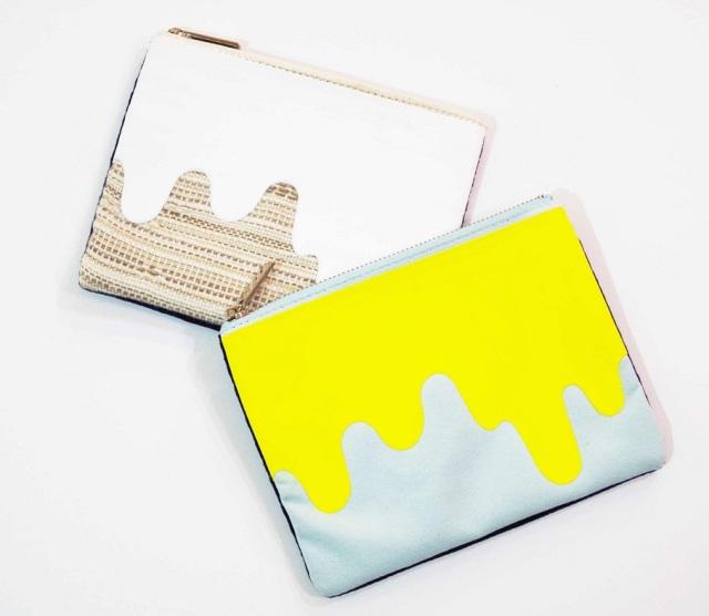 Liquid Print Poach -Knoll Textiles- Mサイズ